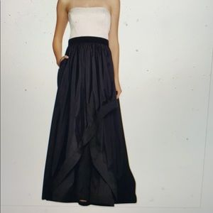 Strapless Formal Gown